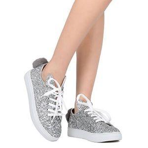 Shoes - Women's glitter sneakers